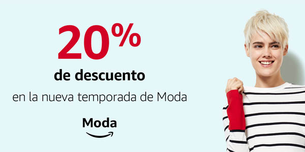 Cupón Amazon Moda