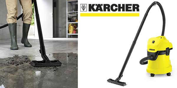 Kärcher WD3 aspirador seco húmedo potente barato