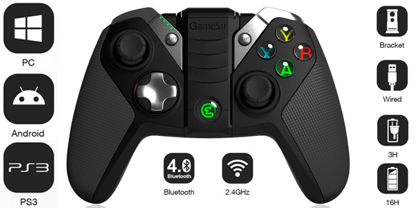 mando GameSir G4 PC Android Bluetooth