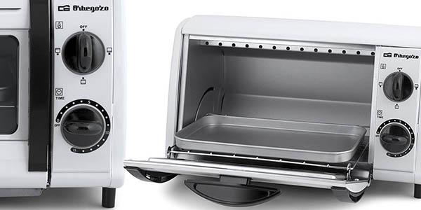 mini horno Orbegozo HO 800 A brutal relación calidad-precio