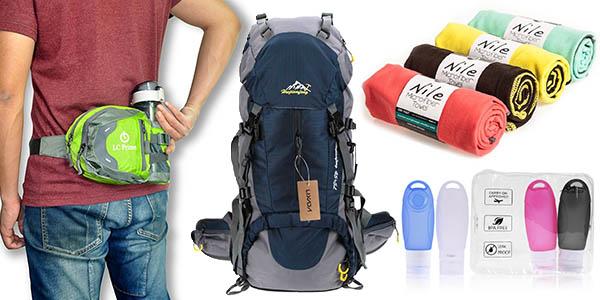 mochilas y complementos para viajes de senderismo baratos