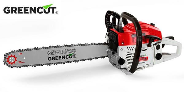 Motosierra de gasolina Greencut GS6200 de 20'' y 62 cc
