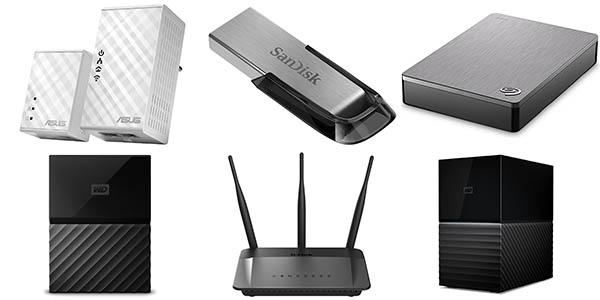 Ofertas almacenamiento y dispositivos de red