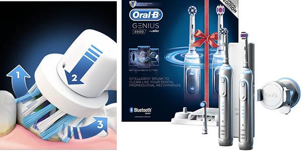 Oral-B Genius 8900 pack 2 cepillos eléctricos barato