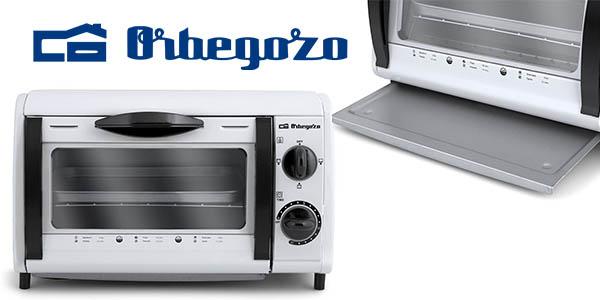 Chollo mini horno tostador orbegozo ho 800 a por s lo 30 for Hornos compactos baratos
