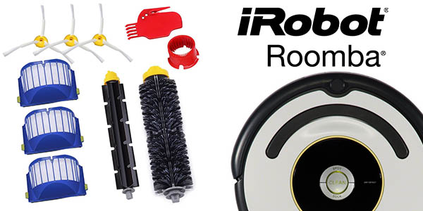 pack GHB recambios iRobot Roomba serie 600 compatible baratos