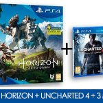 PS4 Slim 1TB + Horizon Zero Dawn + Uncharted 4 + 90 días de PS Plus
