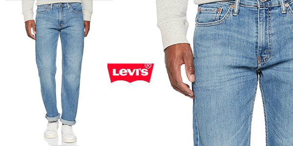 Pantalones Levi's 514 Regular Fit baratos en Amazon