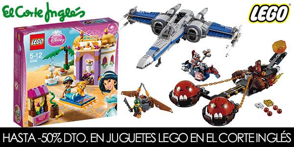 eb0170008 Hasta un -50% de descuento juguetes LEGO en El Corte Inglés