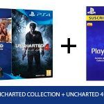Pack PS4 Slim 1 TB + Uncharted Collection + Uncharted 4 + 90 días PS PLUS oferta Amazon