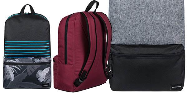 Quiksilver Night Track mochila acolchada compacta de diseño casual a precio brutal