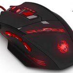 Ratón gaming óptico programable 9200 DPI