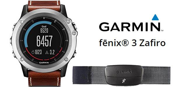 Reloj deportivo Garmin Fēnix 3 Zafiro Edición Especial + HRM Run