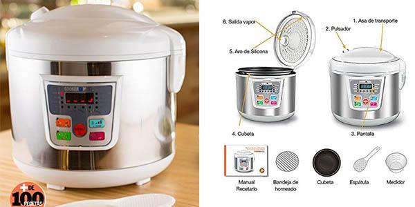 Chollo robot de cocina inteligente cookeomatic por s lo 33 for Robot cocina programable