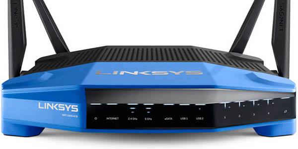 Router WiFi Linksys WRT1900ACS Dual Band