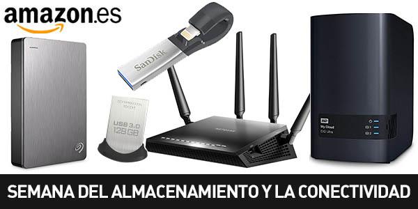 Semana del almacenamiento y la conectividad en Amazon