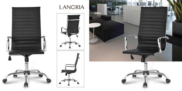 CHOLLO FLASH: Silla de oficina Langria con respaldo alto y calidad ...