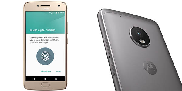 Moto G Plus (5ªGen) en color gris o dorado
