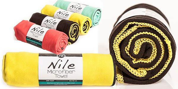 toalla de microfibra absorbente y ligera de peso a precio de chollo