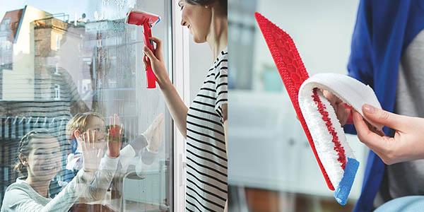 vileda windomatic máquina limpiar cristales rápida cómoda