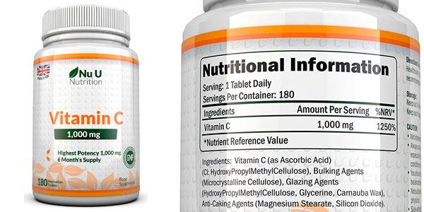 Vitamina C comprimidos al mejor precio