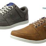 Zapatos de sport Tom Tailor para hombre en marrón o gris con cupón de descuento NOVEDADES17