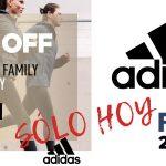 25% de descuento en la web de Adidas sólo hoy con el código FRIENDS