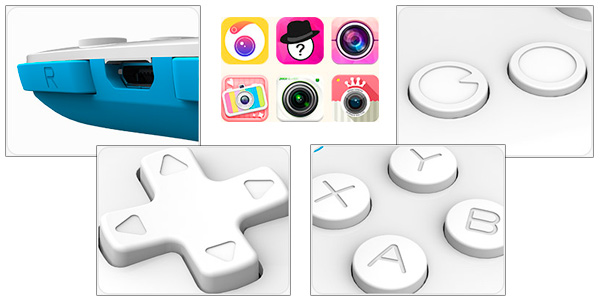 Gamepad bluetooth de bolsillo 8Bitdo Zero para Android, PC y Mac