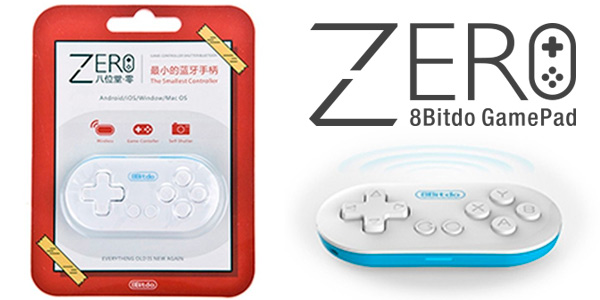 Gamepad inalámbrico de bolsillo 8Bitdo Zero para Android, PC y Mac