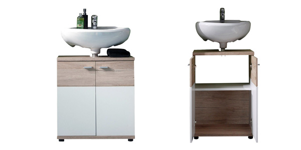 Chollo armario bajo lavabo campus de trendteam por s lo 49 for Super chollo muebles