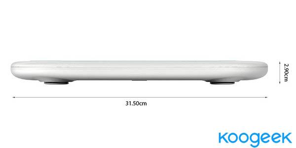 Báscula digital Bluetooth Koogeek barata