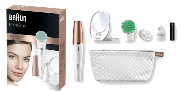 Sistema de depilación facial Braun FaceSpa 851V barato en Amazon España