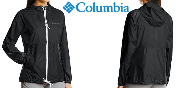 columbia flash forward windbreaker chaqueta cortavientos senderismo barata