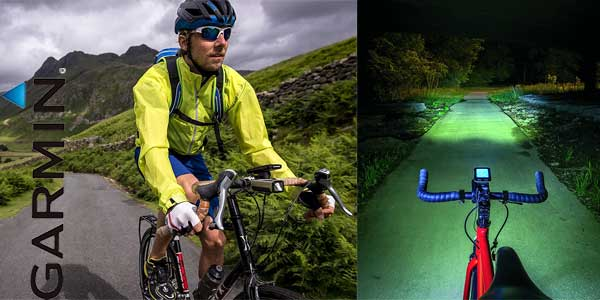 Combo luces inteligentes para bicicleta Garmin Varia barato en Amazon