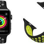 Correas tipo Nike compatibles con Apple Watch 38mm y 42mm