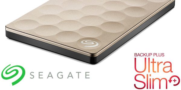 Disco duro externo portátil Seagate Backup Plus Ultra Slim de 1TB