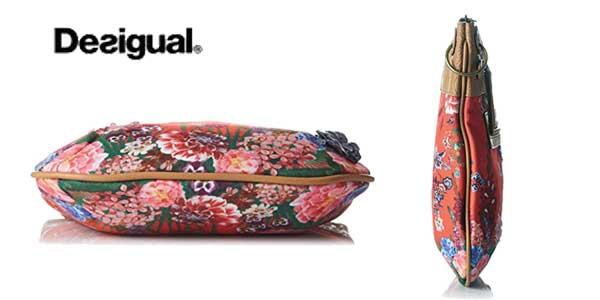 Bolso bandolera Ikebana Desigual barato en Amazon Moda