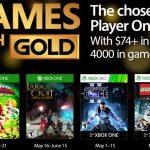 Juegos gratis con Gold Mayo 2017