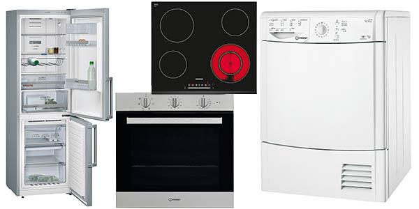lavadoras secadoras frigoríficos campanas siemens indesit rebajados