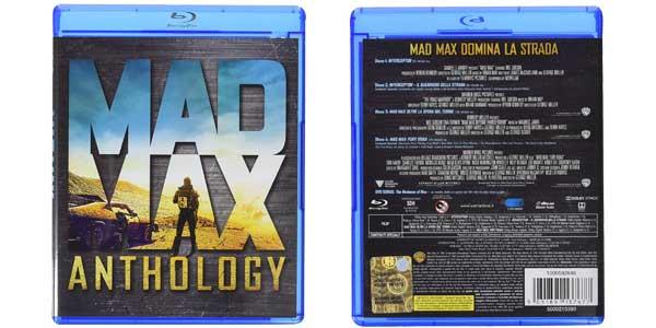Antología Mad Max 4 películas en Blu-Ray barato en Amazon