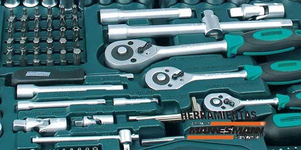 maletín herramientas Mannesmann de 215 piezas baratas en eBay