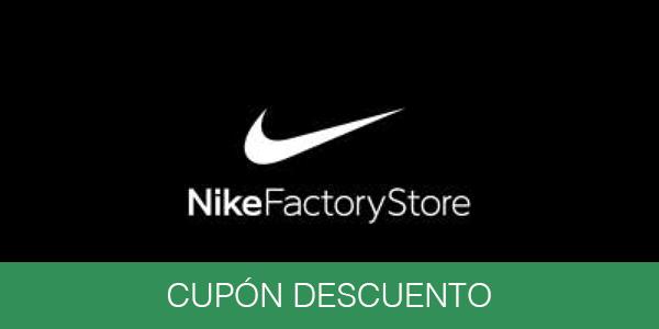 Nike Factory Store cupón descuento