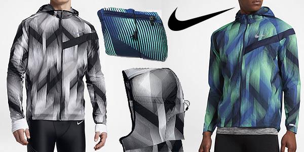 mayor selección múltiples colores proporcionar un montón de Chollo Chaqueta running Nike Impossibly Light para hombre ...