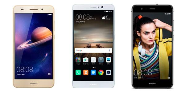 Ofertas en Smartphones Huawei en la web de Worten por tiempo limitado