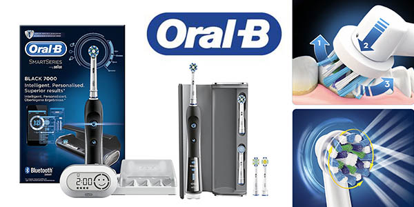 oral-b pro 7000 crossaction smart series cepillo eléctrico barato