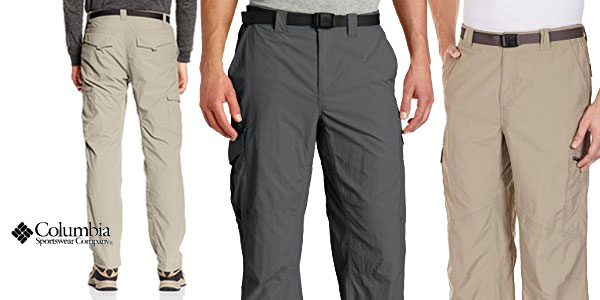 Pantalones de senderismo Columbia Silver baratos en Amazon Moda