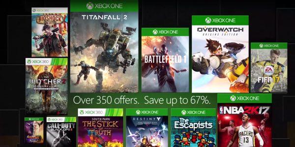 Microsoft Xbox Spring Sale 2017