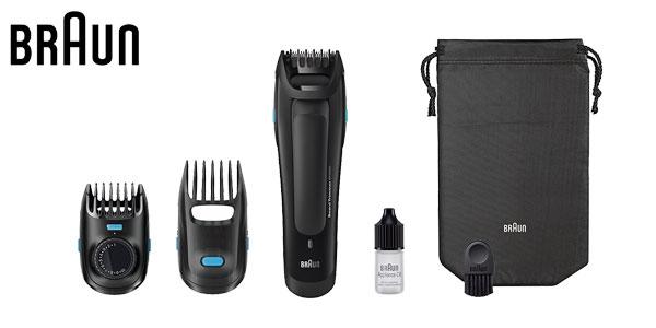 Recortadora de barba de precisión Braun BT 5050 barata en Amazon España