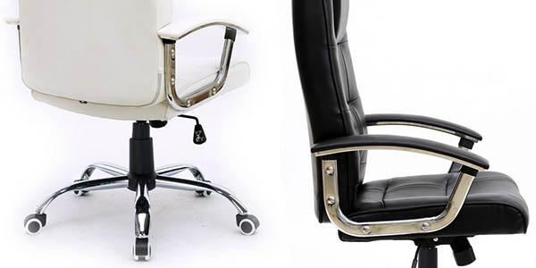 Silla de oficina stanford en blanco o negro por s lo 59 96 for Silla oficina precio