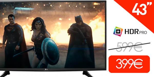 Smart TV LG 43UH610V UHD 4K HDR